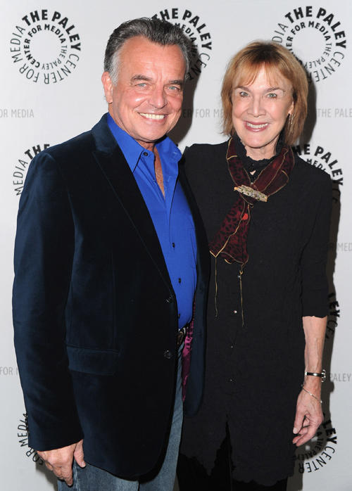 Ray Wise and Catherine Coulson at the Paley Center for Media Presents