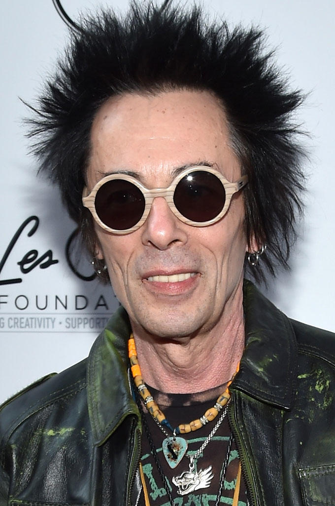 Earl Slick at the Les Paul 100th Anniversary Celebration in New York City.