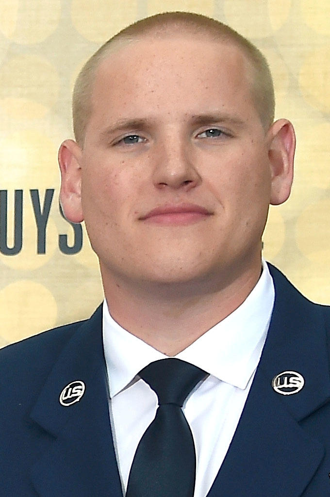 Airman First Class Spencer Stone at Spike TV's 10th Annual Guys Choice Awards in Culver City, California.