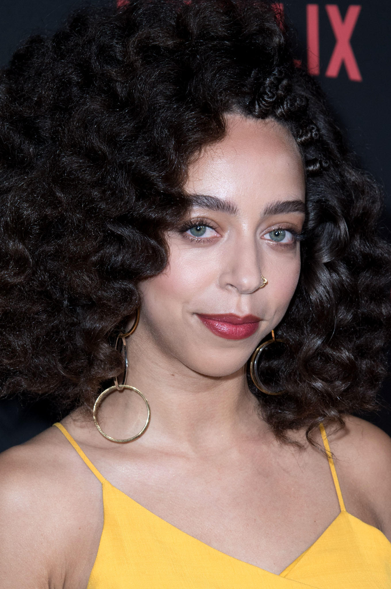 Hayley Law at the premiere of Netflix's
