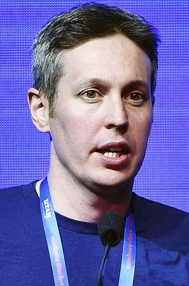 Tim Wardle during the Sundance Film Festival Awards Night Ceremony during the 2018 Sundance Film Festival.