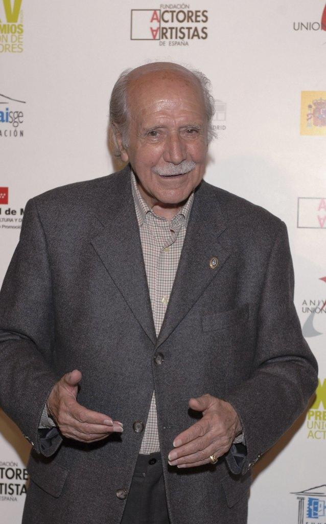 Manuel Alexandre at the 15th Actors Union Awards Ceremony.