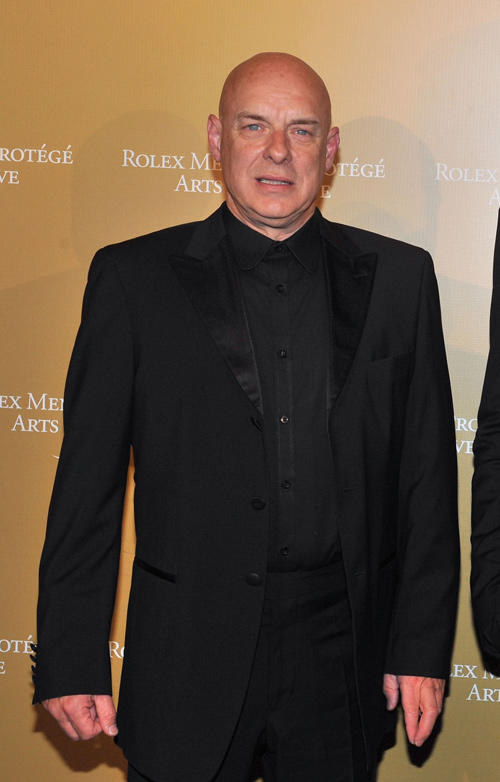 Brian Eno at the 2011 Rolex Mentor and Protege Arts Initiative in New York.