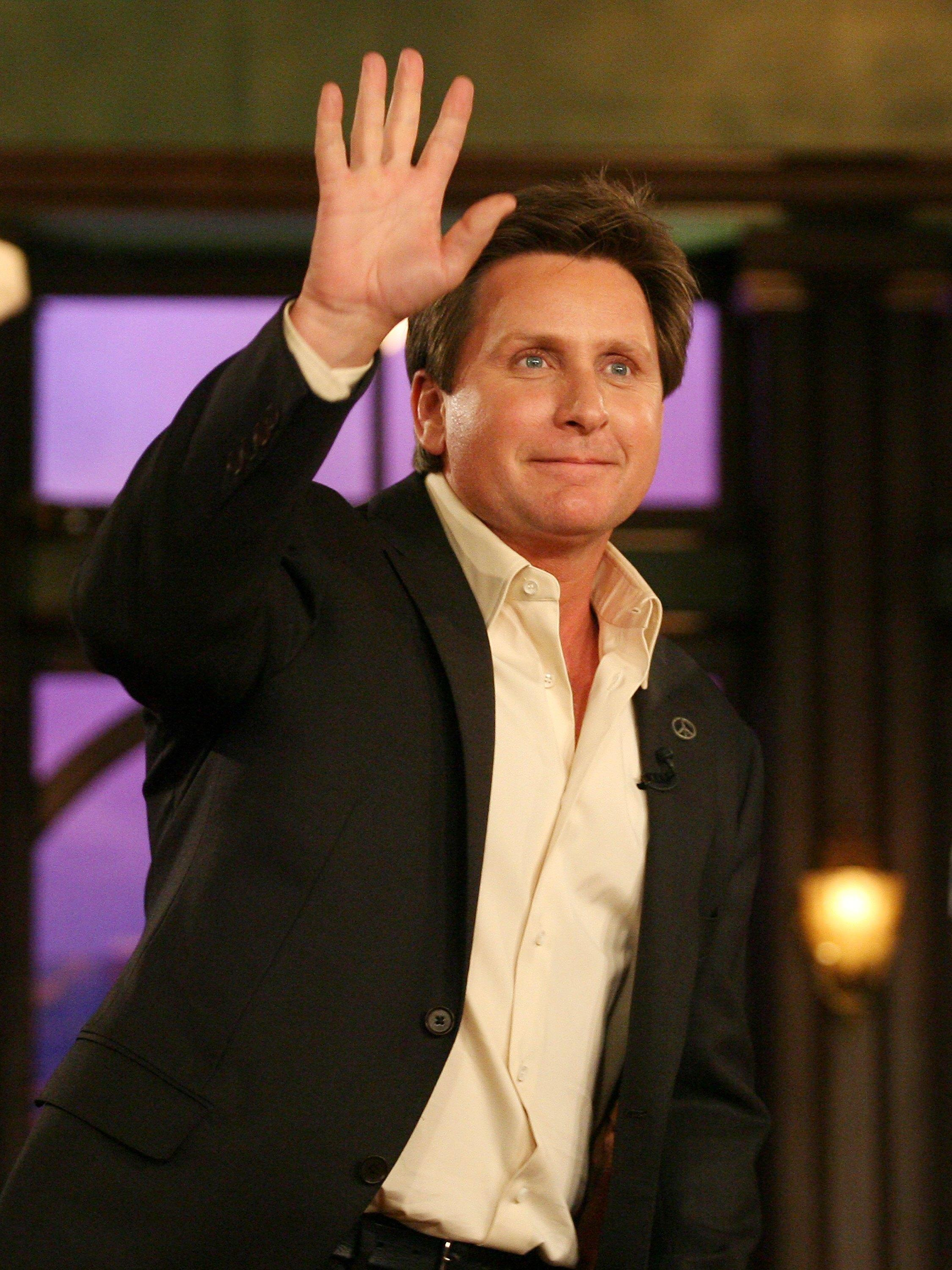 Actor-filmmaker Emilio Estevez on