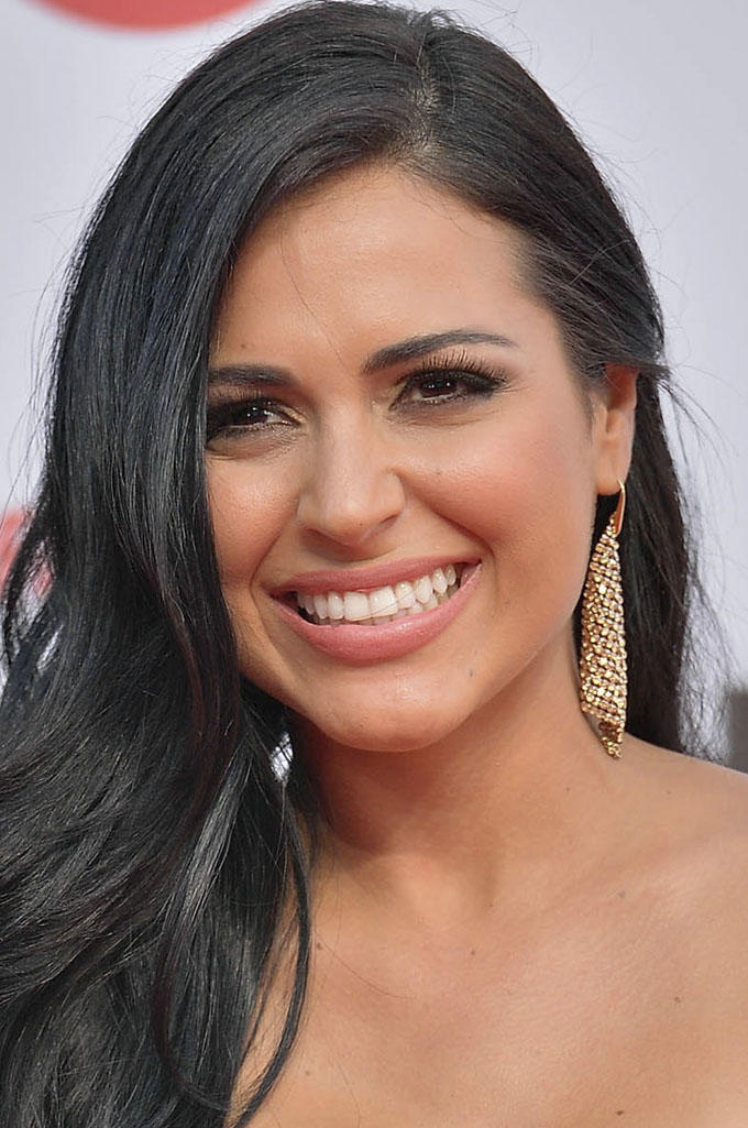 LIannet Borrego at the 2013 Billboard Latin Music Awards in Miami.