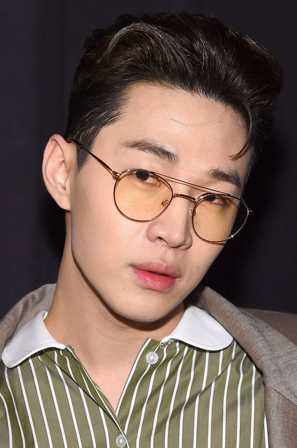 Henry Lau at the Marc Jacobs Fall 2019 show in New York City.