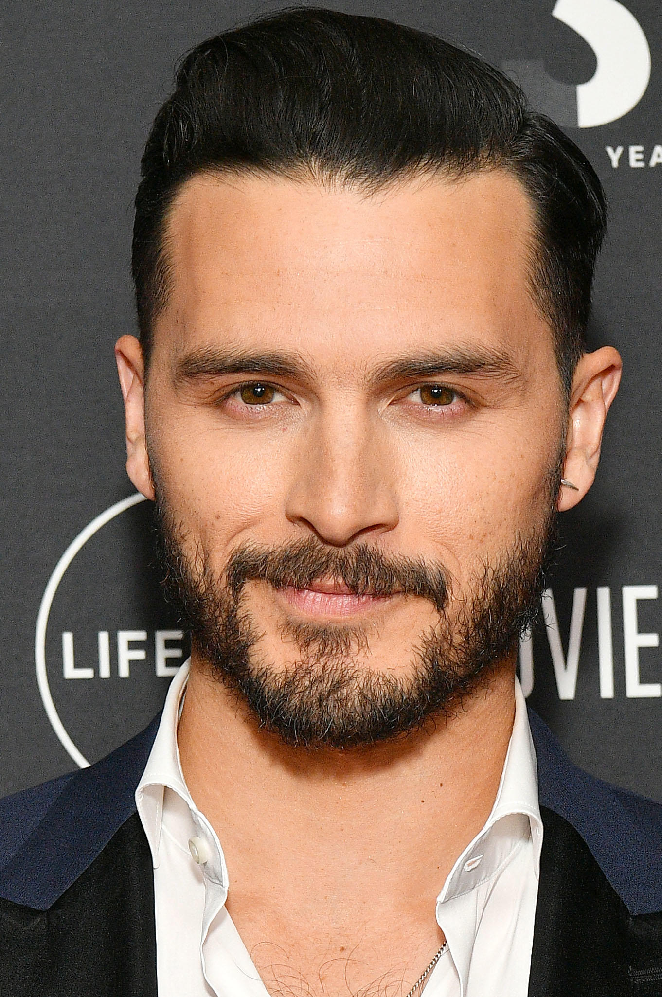 Michael Malarkey at the 2019 A+E Networks upfront in New York City.