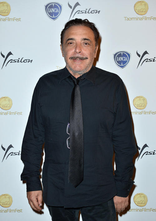 Nino Frassica at the celebration of Lancia Cafe during the Taormina Filmfest 2013.