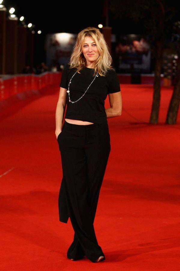 Valeria Bruni-Tedeschi at the premiere of