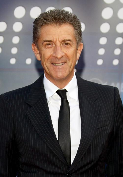 Ezio Greggio at the Mediaset Night TV Programming Presentation.