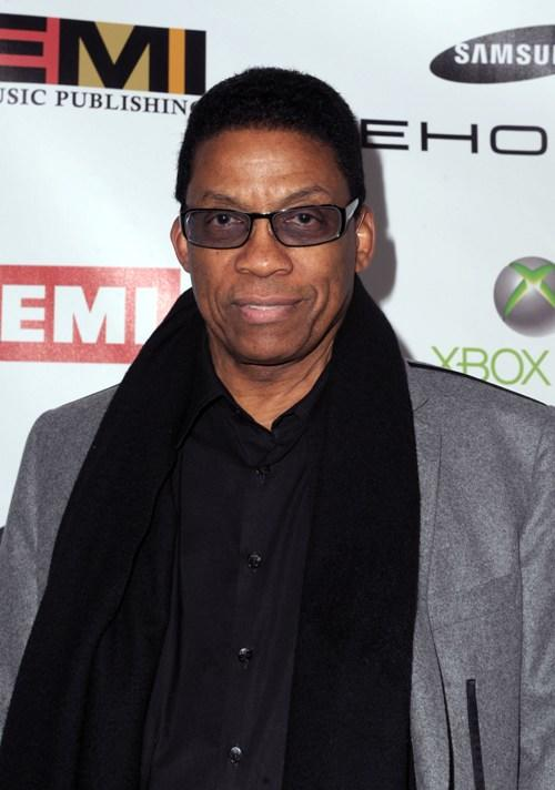 Herbie Hancock at the 2010 EMI GRAMMY party.