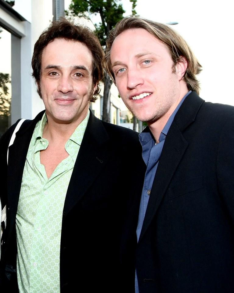 Paul Hipp and Chad Hurley at the Nanette Lepore and the Creative Coalition's Fashion Votes event.