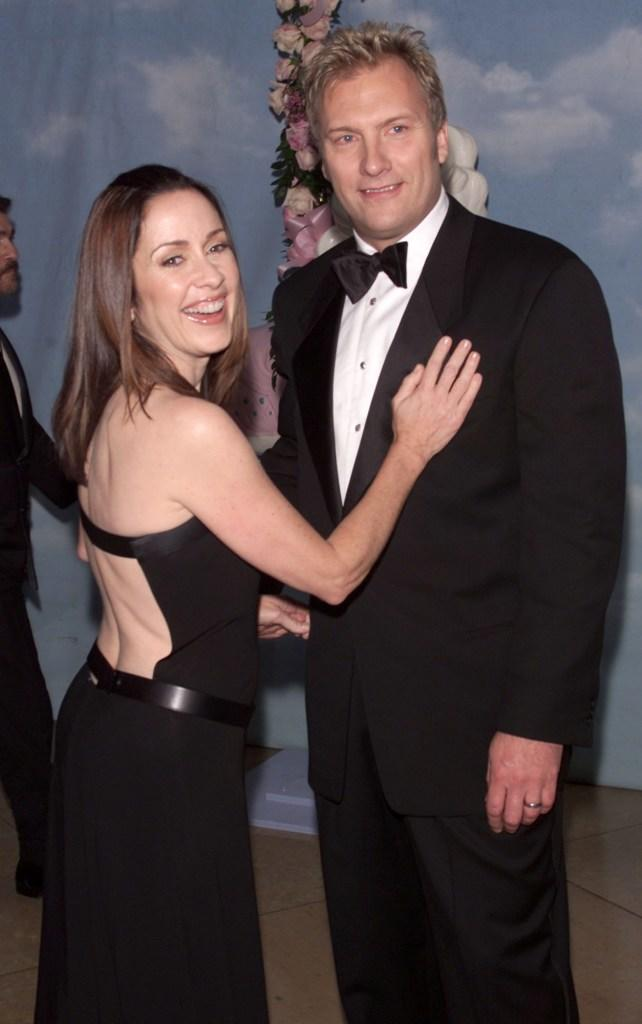 Patricia Heaton and her husband David Hunt at the
