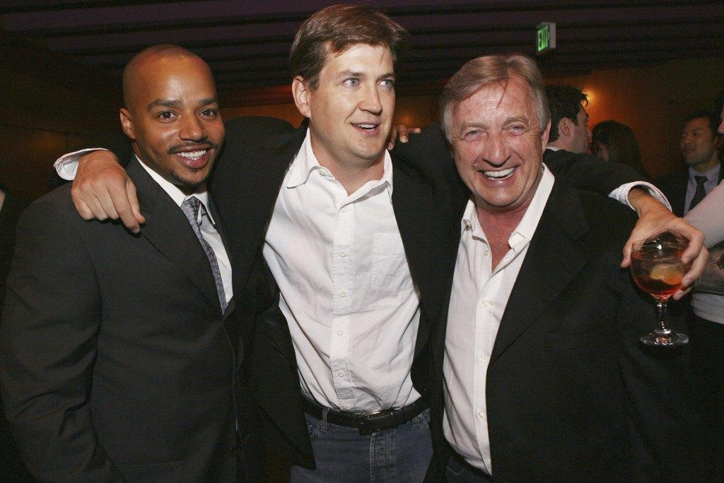Donald Faison, Bill Lawrence and Ken Jenkins at the after party of the premiere of