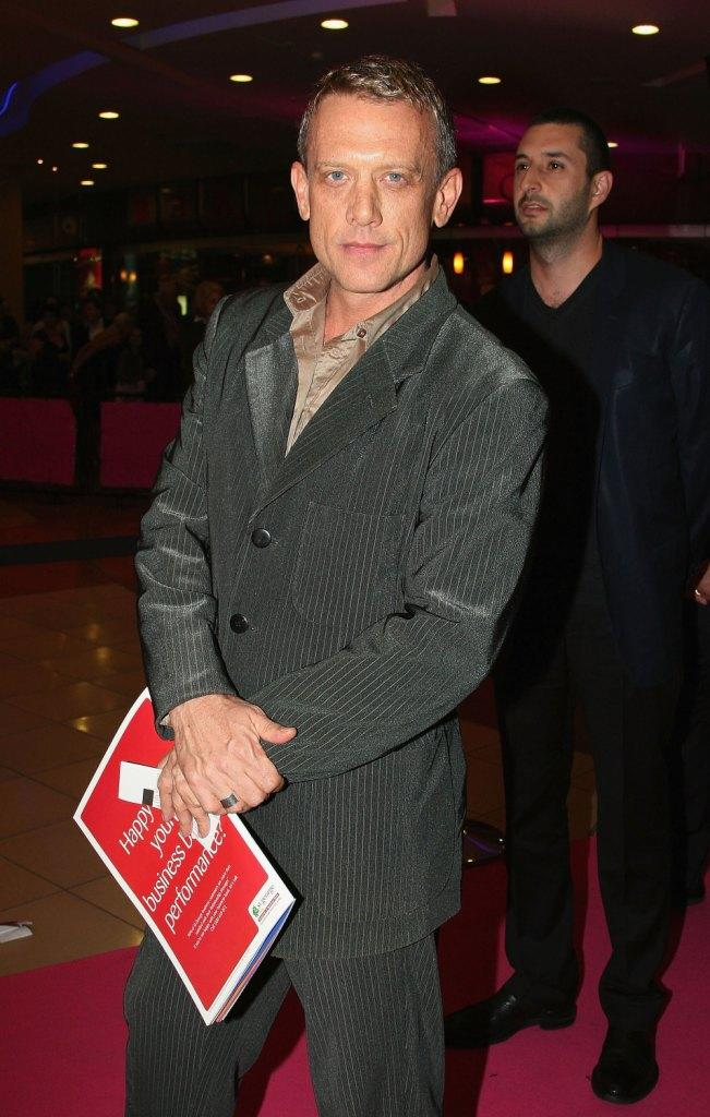 Simon Burke at the world premiere of