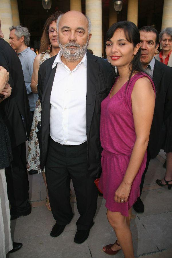Gerard Jugnot and his Wife at the 25th edition of