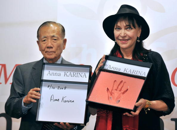 Kim Dong-Ho and Anna Karina at the 13th Pusan International Film Festival.