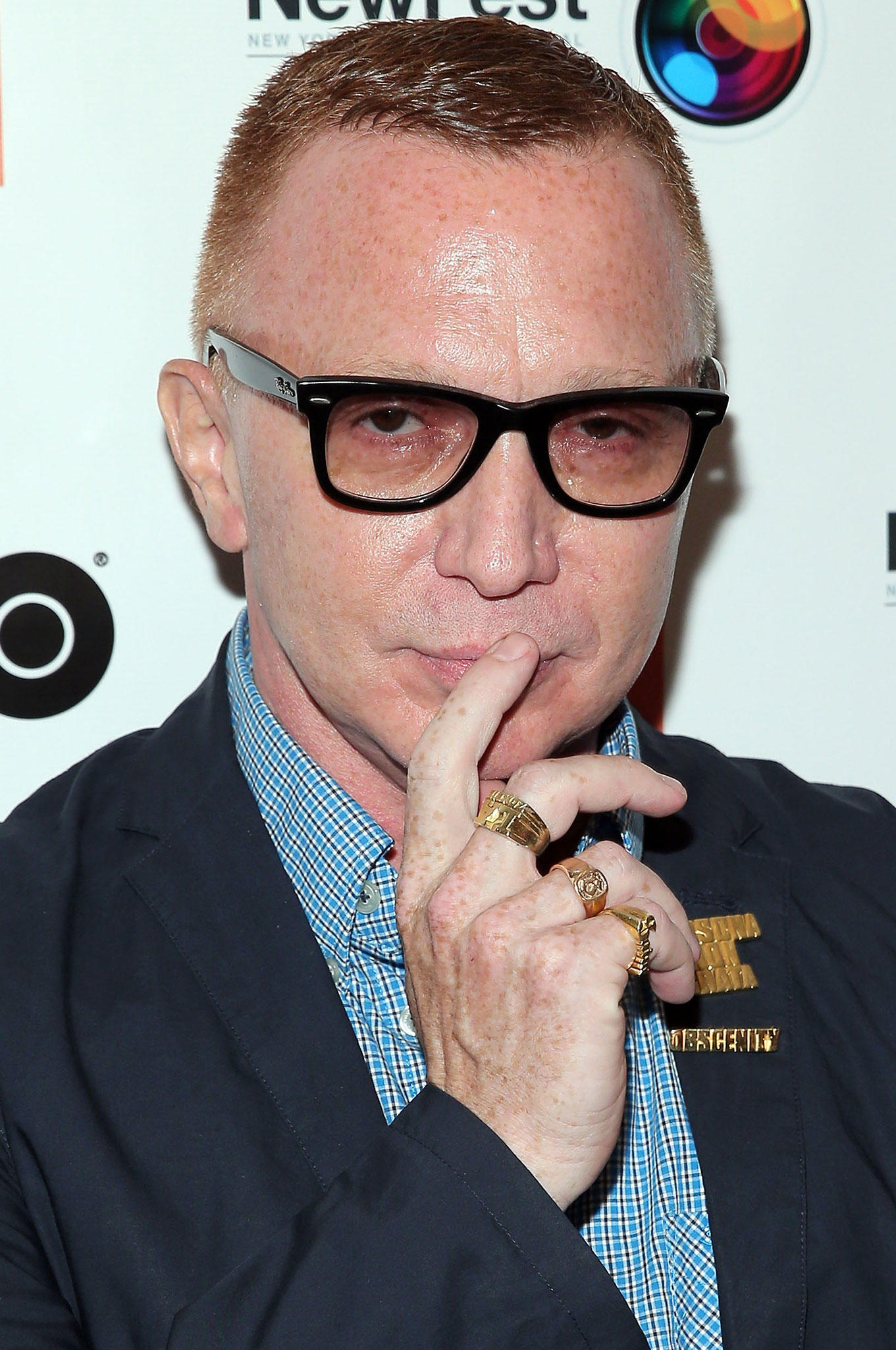Bruce LaBruce at the 2014 Newfest at The Film Society of Lincoln Center screening of