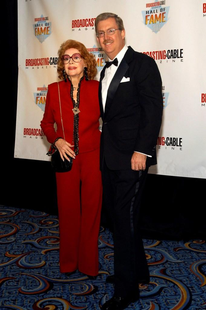 Jayne Meadows and Bill Allen at the 13th Annual Broadcasting & Cable Magazine Hall of Fame.
