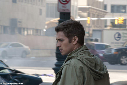 Hayden Christensen as Luke in ``Vanishing on 7th Street.''