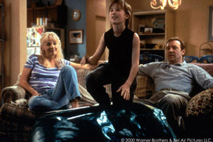 Helen Hunt, Haley Joel Osment and Kevin Spacey in