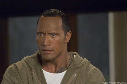 Dwayne Johnson as Boxer Santaros in