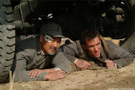 Chow Yun-Fat and Jonathan Rhys-Meyers in