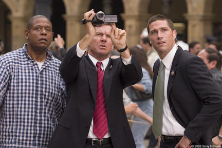 Forest Whitaker, Dennis Quaid and Matthew Fox in