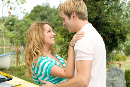 Ashley Tisdale as Bethany and Robert Hoffman in