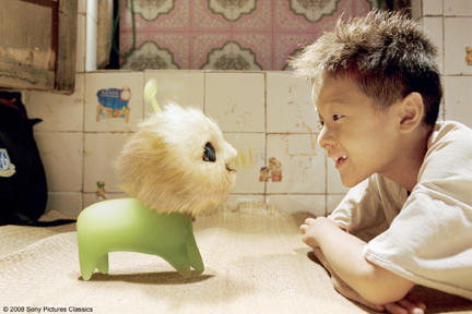 Xu Jiao as Dicky Chow with CJ7 in