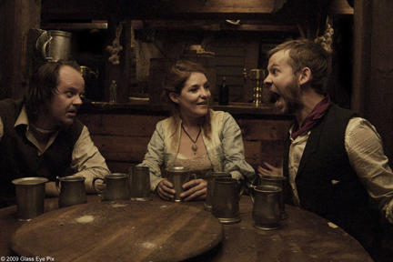 Larry Fessenden as Willie Grimes, Brenda Cooney as Fanny Bryers and Dominic Monaghan as Arthur Blake in