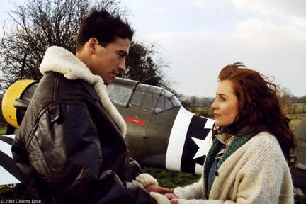 Andrew Keegan as Mike and Jade Yourell as Maggie in