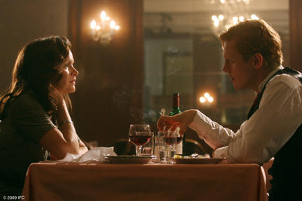 Stine Stengade as Ketty and Thure Lindhardt as Flame in