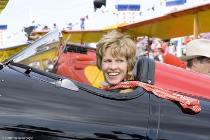 Hilary Swank as Amelia Earhart in
