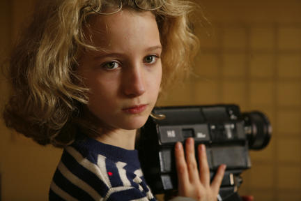 Garance Le Guillermic as Paloma Josse in ``The Hedgehog.''