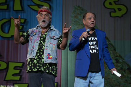 Tommy Chong and Cheech Marin in