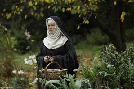 Barbara Sukowa as Hildegard von Bingen in