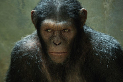Andy Serkis as Caesar in ``Rise of the Planet of the Apes.''