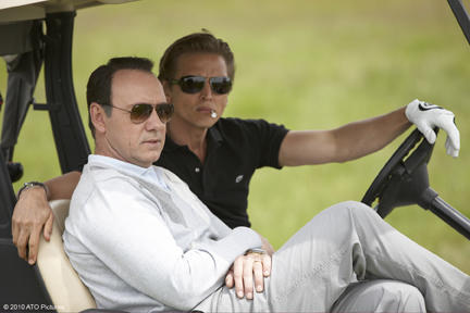 Kevin Spacey as Jack Abramoff and Barry Pepper as Michael Scanlon in