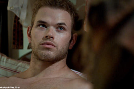 Kellan Lutz as Eddie in ``Meskada.''