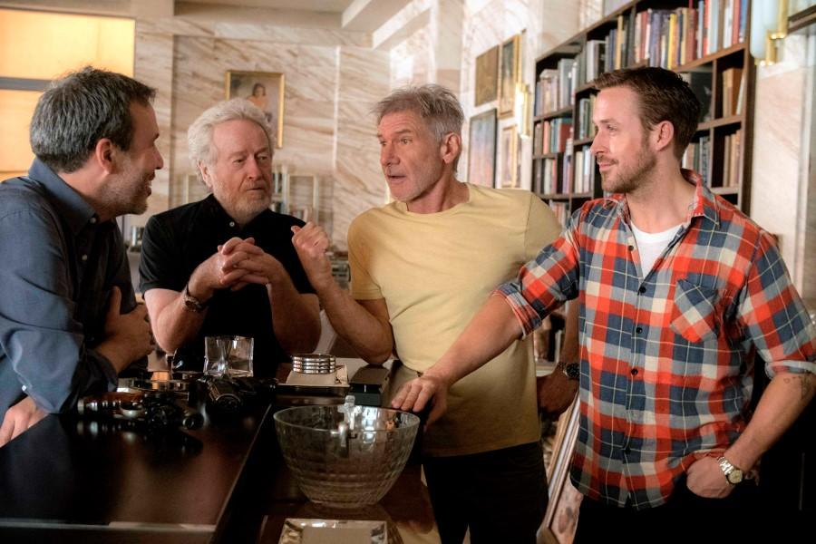 Ryan Gosling Says 'Blade Runner 2049' Filmed for Months Without Harrison Ford