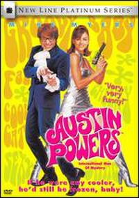 Austin Powers: International Man of Mystery poster