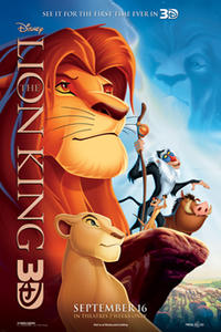The Lion King 3D (2011) poster