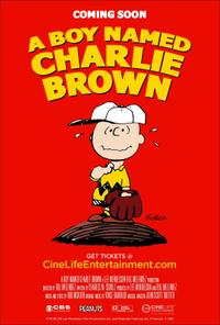 A Boy Named Charlie Brown poster