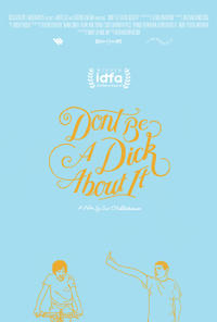 Don't Be a Dick About It poster