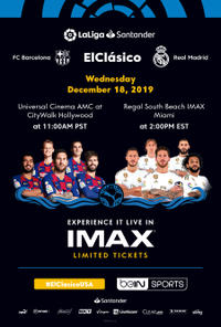 El Clasico: FC Barcelona vs. Real Madrid – The IMAX Experience (2019) poster