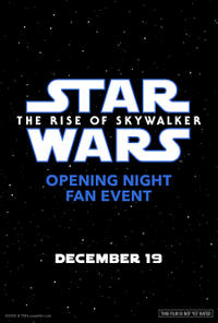 Opening Night Fan Event: Star Wars: The Rise of Skywalker (2019) poster