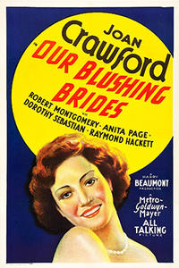 Double Feature: OUR BLUSHING BRIDES / FOOTLIGHT PARADE poster