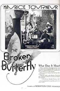 THE BROKEN BUTTERFLY poster