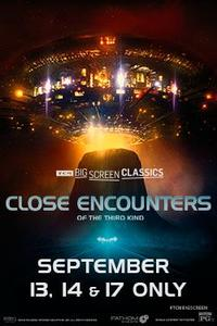 Close Encounters of the Third Kind (1977) presented by TCM poster